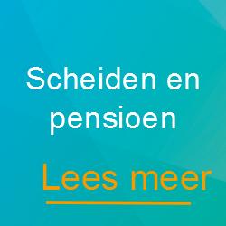 Scheiden en pensioen - Scheidingsplanner Hilversum - Bilthoven - Soest