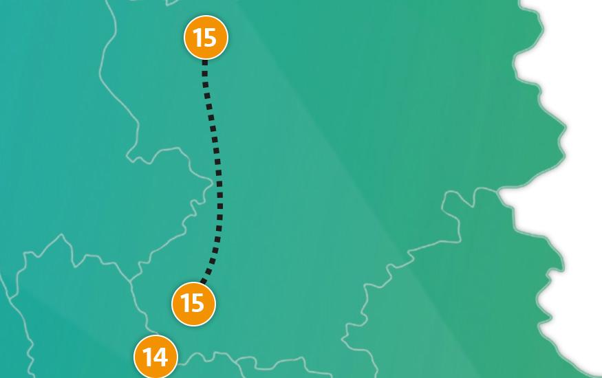 etappe 15 - Scheidingsplanner Hilversum | Bilthoven | Soest | 't Gooi