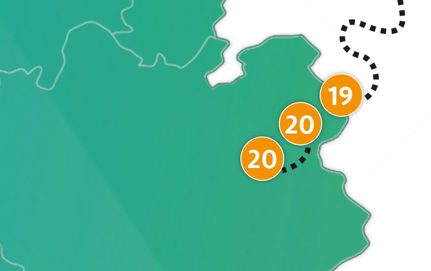 etappe 20 - Scheidingsplanner Hilversum | Bilthoven | Soest | 't Gooi