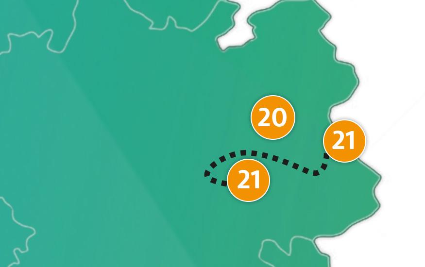 etappe 21 - Scheidingsplanner Hilversum | Bilthoven | Soest | 't Gooi