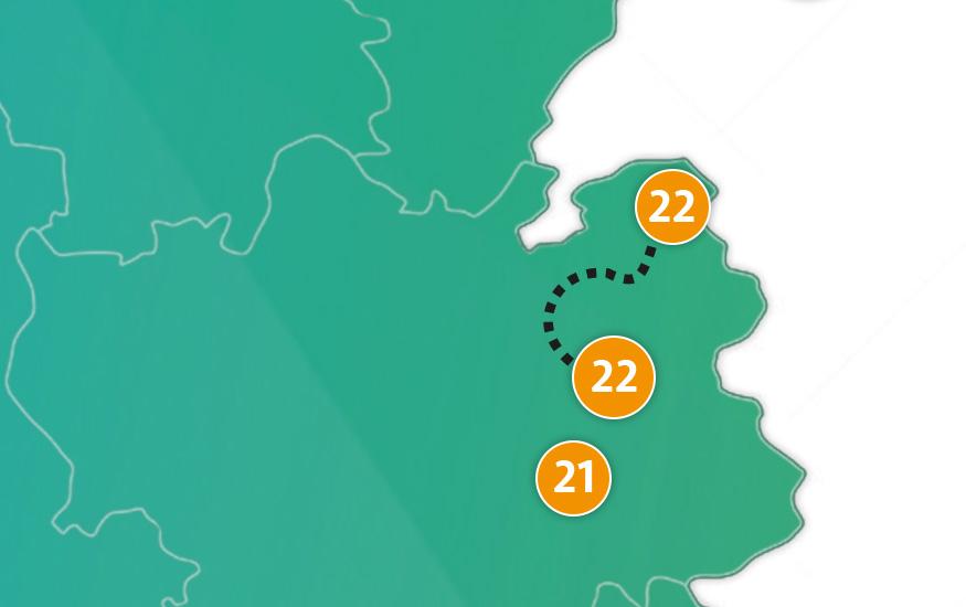 etappe 22 - Scheidingsplanner Hilversum | Bilthoven | Soest | 't Gooi