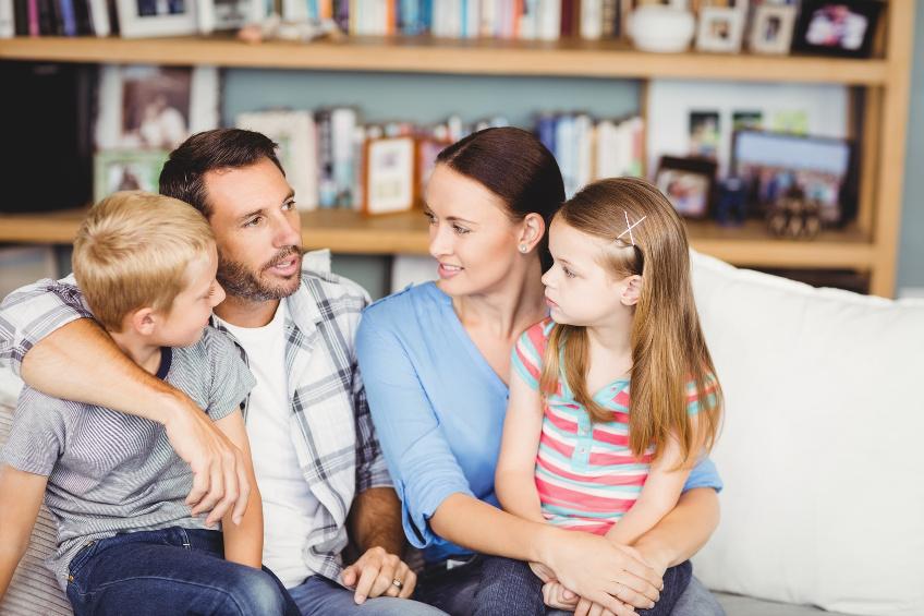 Hoe vertellen we de kinderen dat we gaan scheiden?