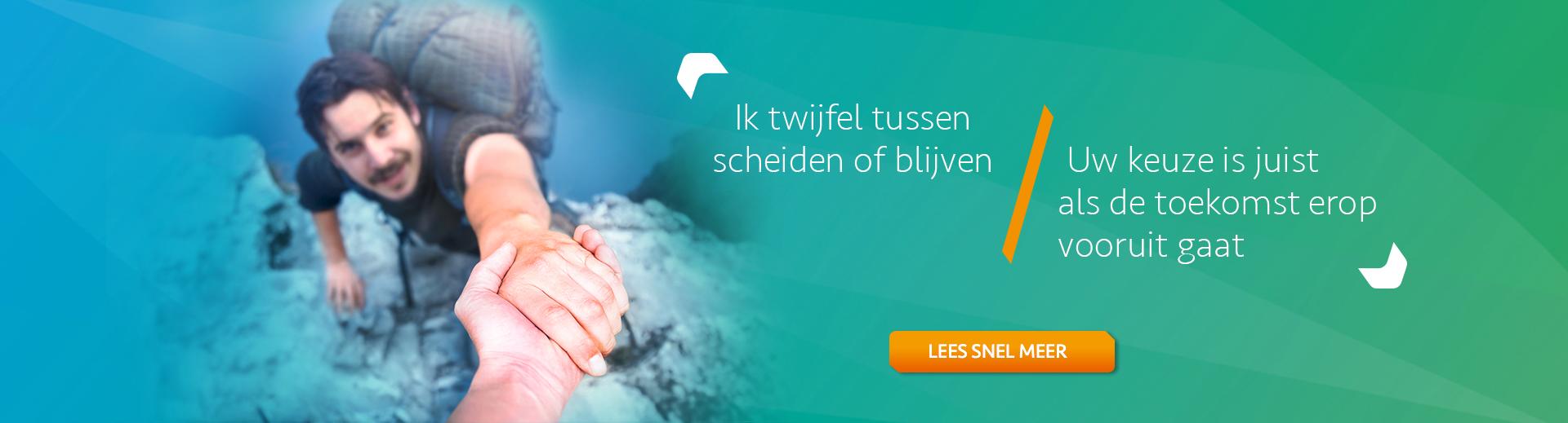 Scheiden of blijven inclusief test - Scheidingsplanner Hilversum - Bilthoven - Soest